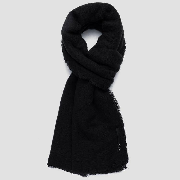 Scarf with frayed edges REPLAY aw9205.001.a0165b