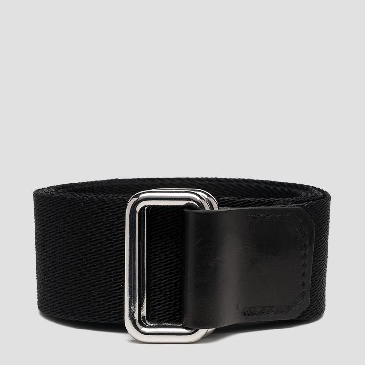 Fabric belt with sliding buckle ax2261.000.a0374