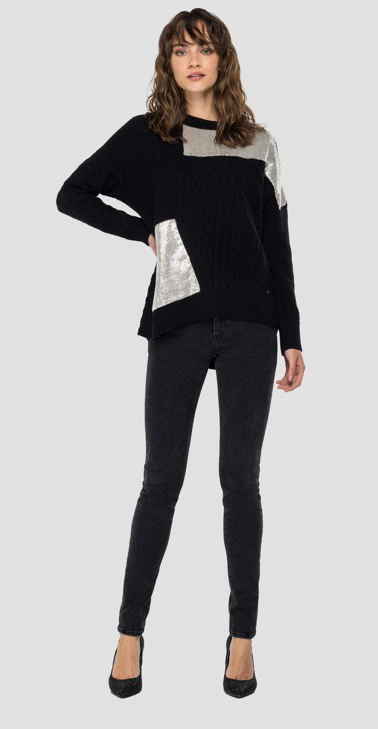 REPLAY tricot sweater dk7070.000.g22726