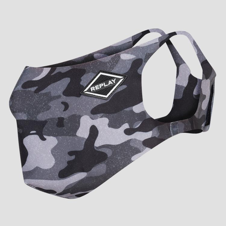 Evoflex camouflage face mask - Replay