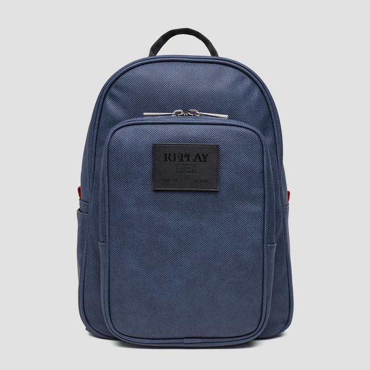 105d39717c45d5 Eco-leather backpack with maxi pocket fm3364.000.a0375