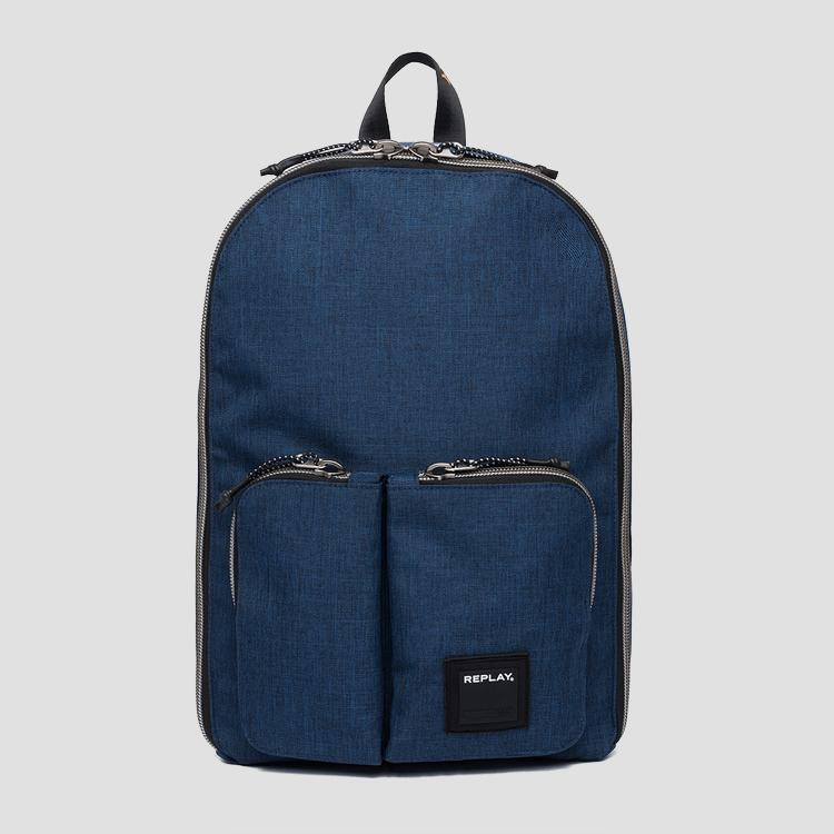 Double pocket backpack fm3402.000.a0343