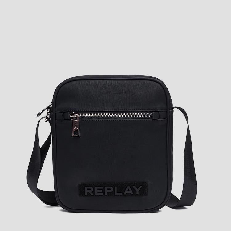 Eco-leather shoulder bag - Replay