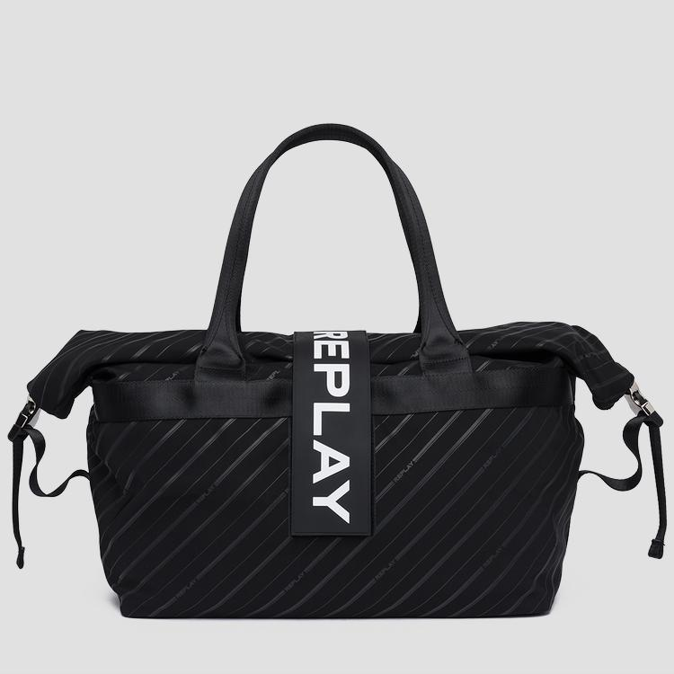 Printed nylon duffle bag - Replay
