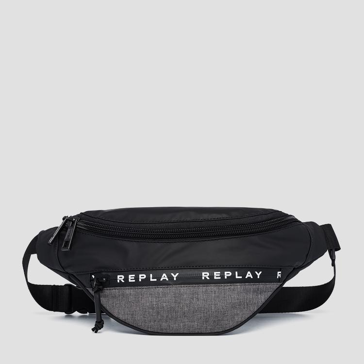 Replay nylon waist bag fm3446.000.a0735
