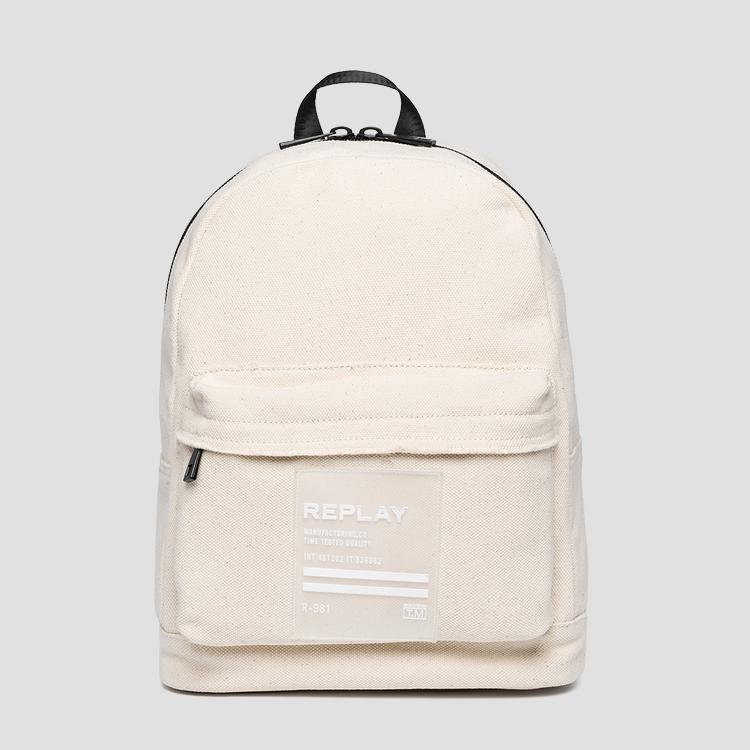 Cotton canvas backpack - Replay