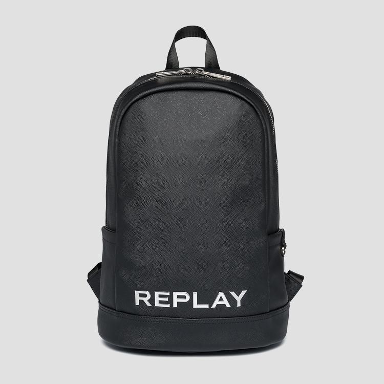 REPLAY backpack with saffiano effect - Replay