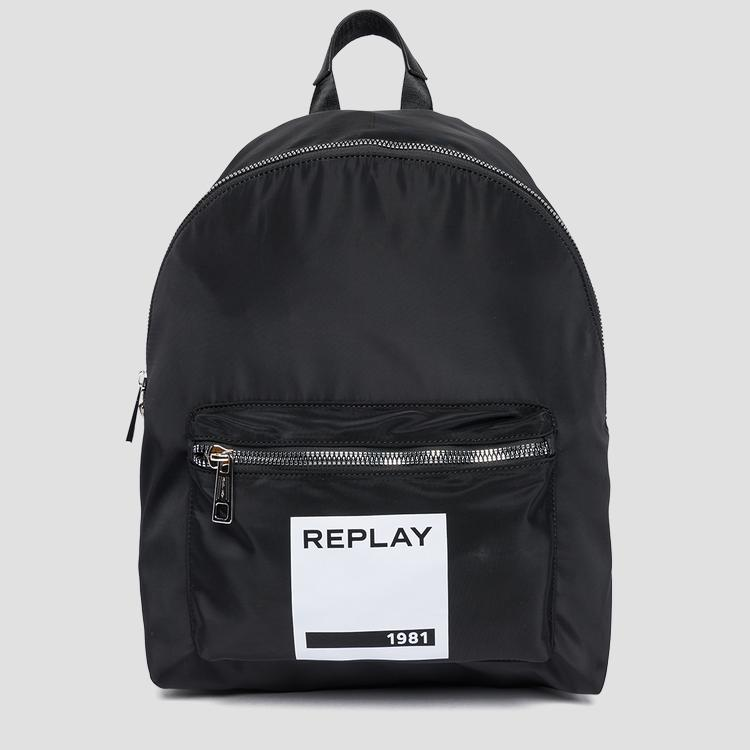 Backpack with REPLAY 1981 patch fu3059.000.a0093a