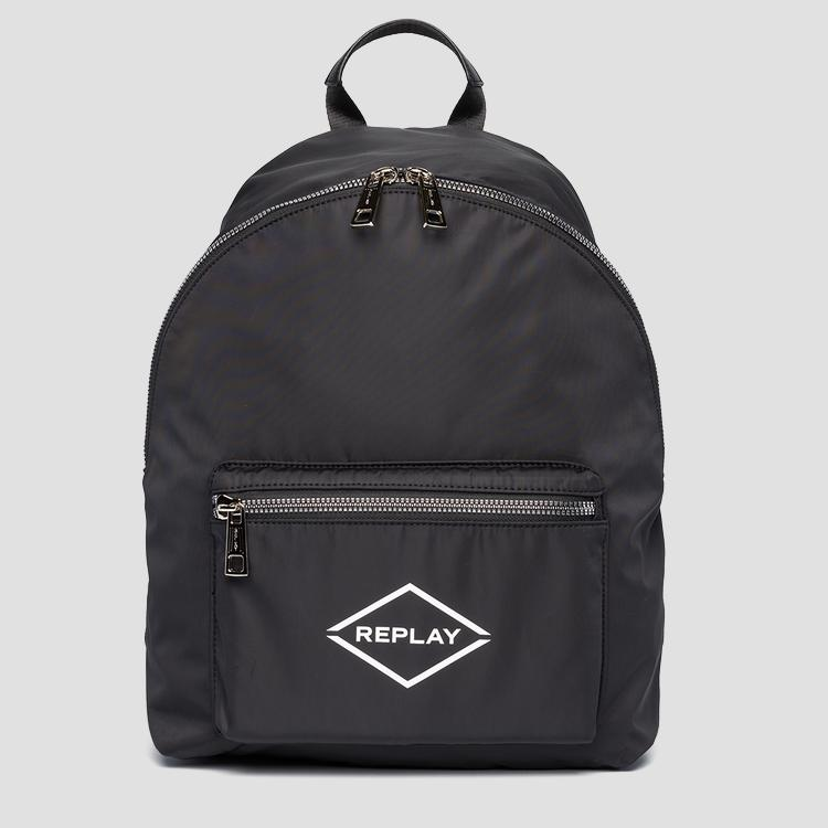 Nylon backpack REPLAY fu3071.000.a0021b
