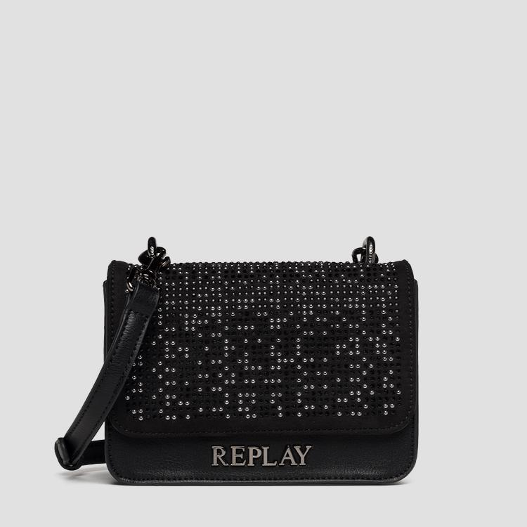 Crossbody bag with small studs fw3001.005.a0122g
