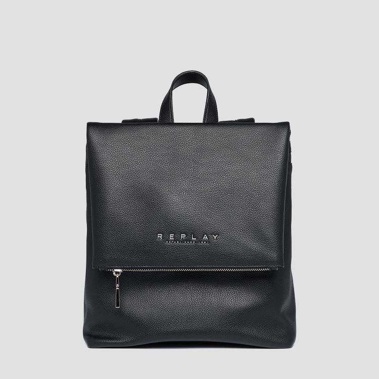 REPLAY soft backpack with flap fw3083.000.a0363c