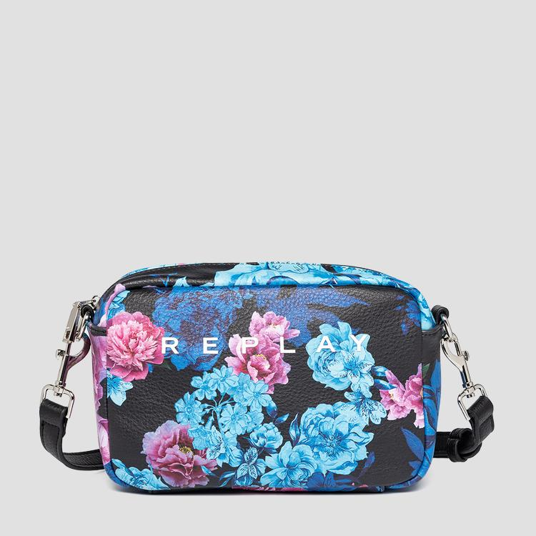 Crossbody bag with floral print fw3112.001.a0426c