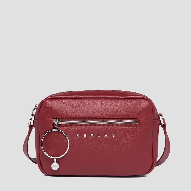 REPLAY crossbody bag with maxi charm fw3148.000.a0437