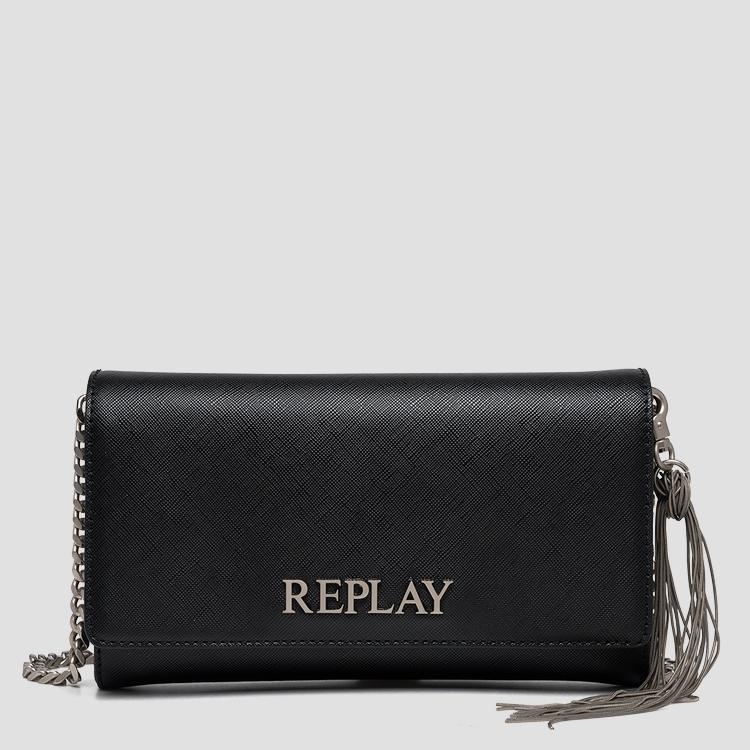 REPLAY solid-coloured purse fw3216.000.a0283b