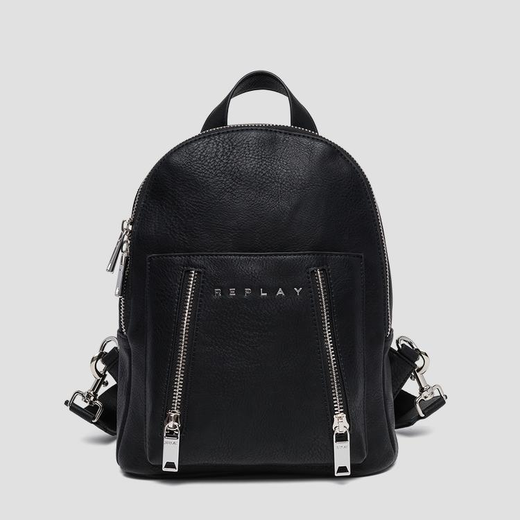 Backpack with double zipper fw3799.000.a0362