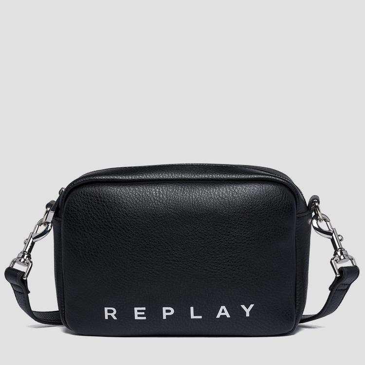Shoulder bag with logoed ribbon fw3847.000.a0132d