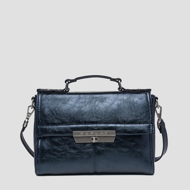 Bag in laminated eco-leather fw3861.001.a0391