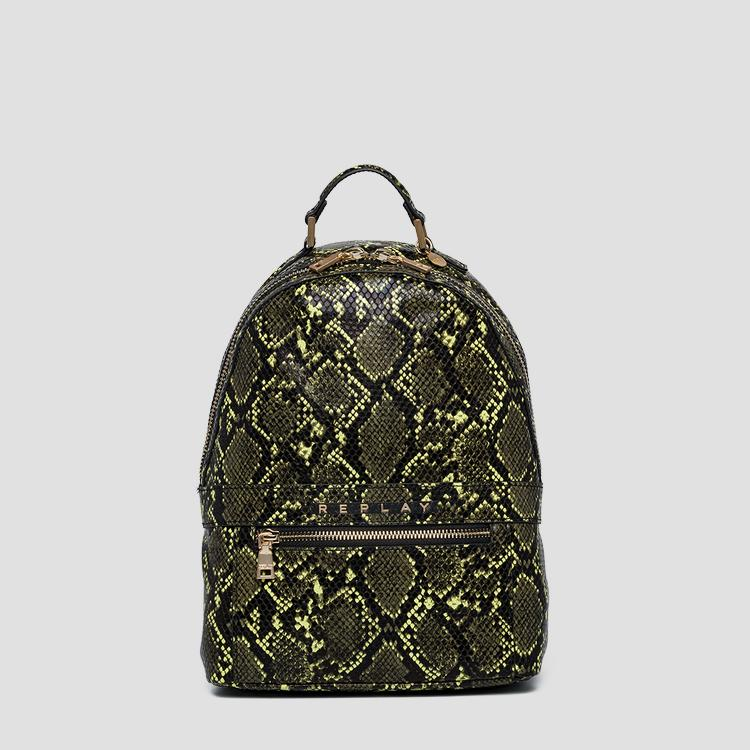 Backpack with shiny python print - Replay