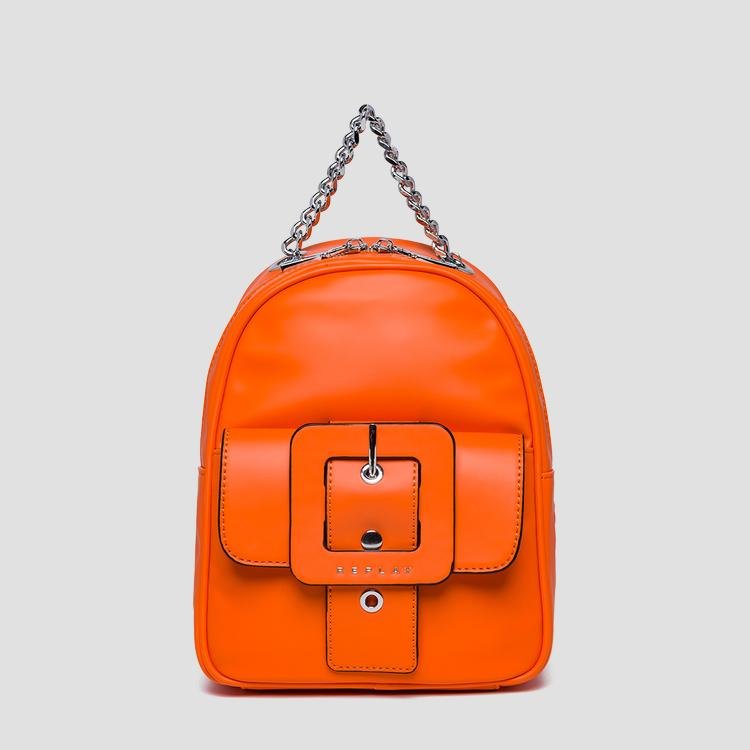 Backpack with pocket and maxi buckle - Replay