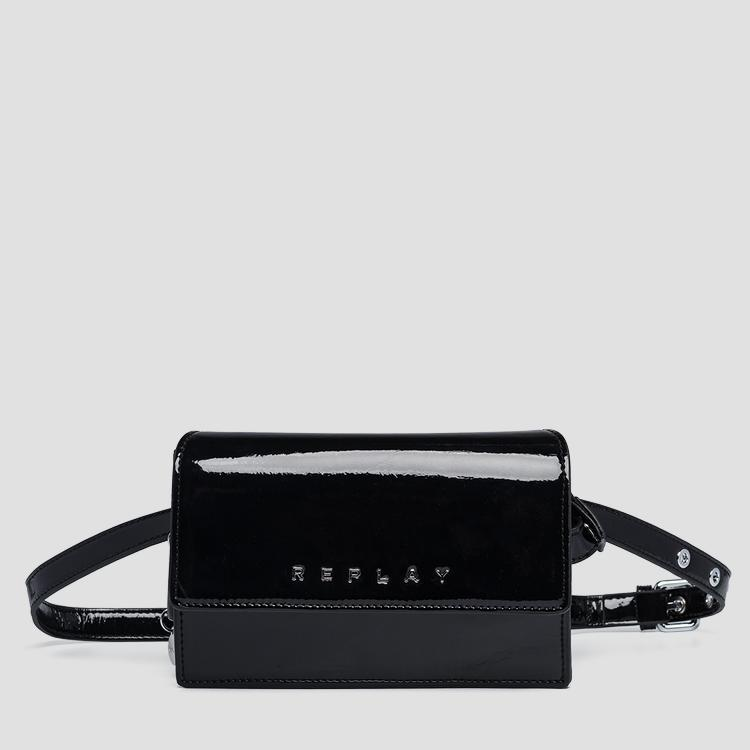 Waist bag with shiny effect fw3949.000.a0023