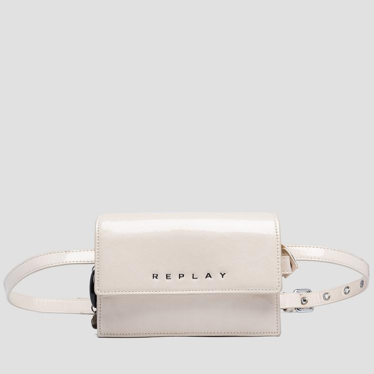 Waist bag with shiny effect - Replay