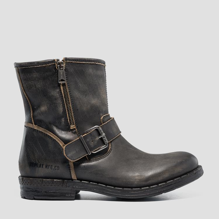 Men's BEDFORD leather mid boots gmc41 .000.c0026l