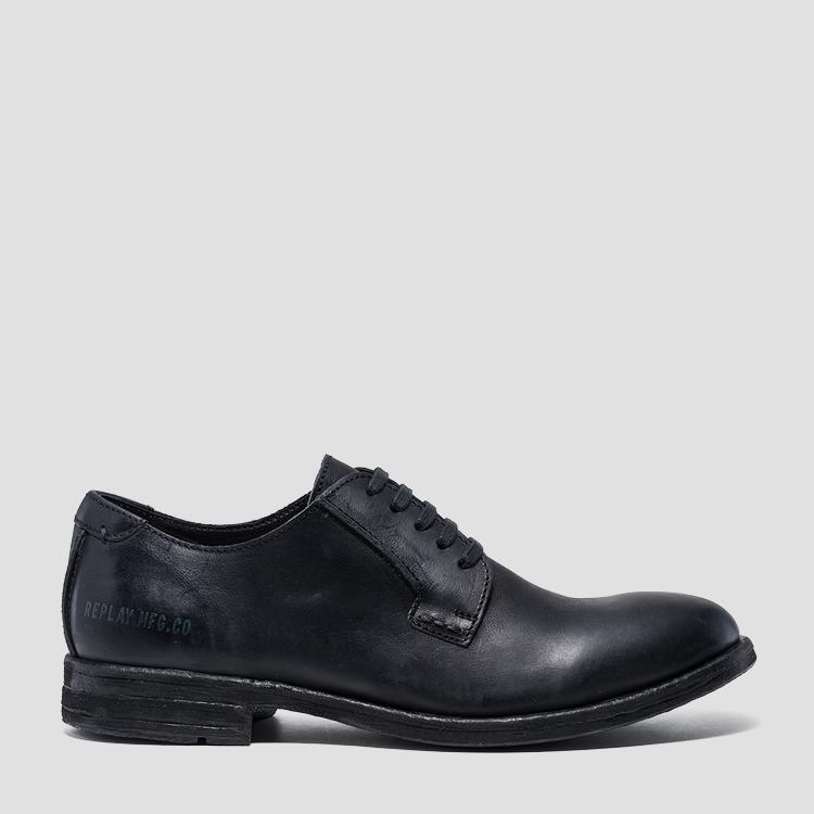 Men's BELLAMY lace up leather shoes - Replay