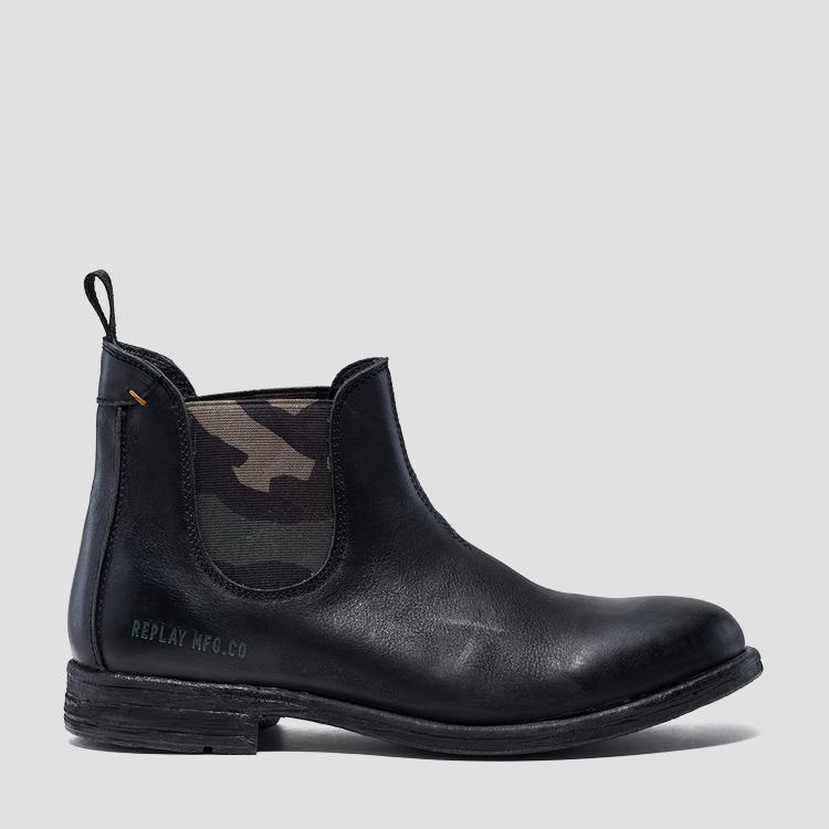 Men's HARTFILE leather chelsea boots - Replay