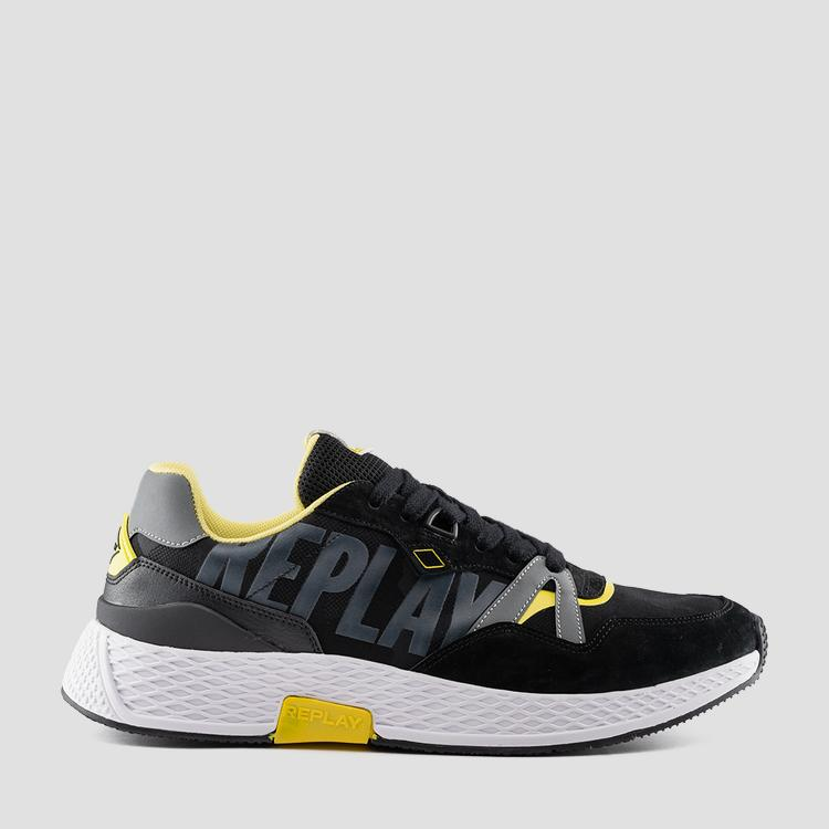 Men's SPORT DRUM lace up sneakers - Replay