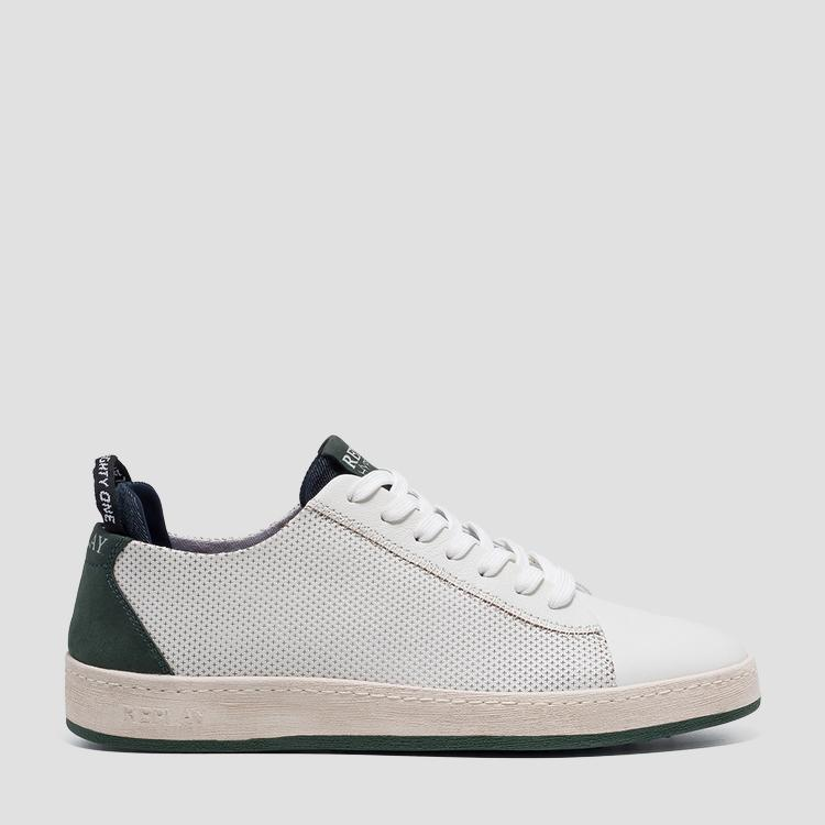 Men's WEYBURN lace up leather sneakers - Replay