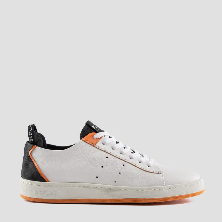 Men's WADPORT lace up leather sneakers gmz52 .000.c0031l