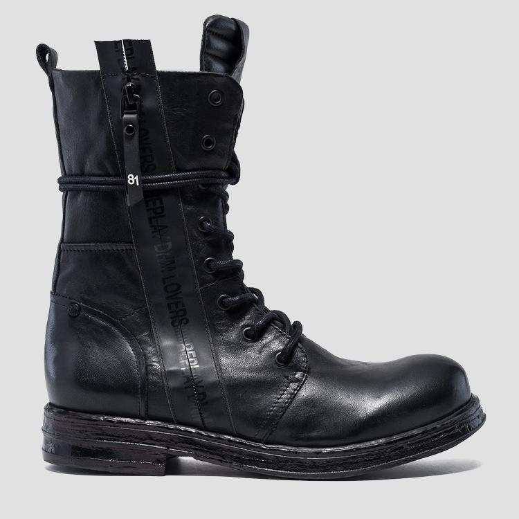 Women's RENEGADE lace up leather boots gwl26 .000.c0069l