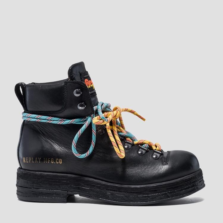 Women's MARKLEY lace up ankle boots gwl53 .000.c0011l