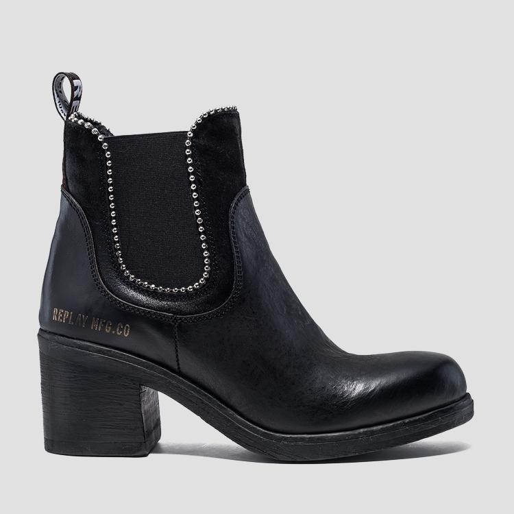 Women's MEDWAY leather chelsea boots gwn47 .000.c0008l