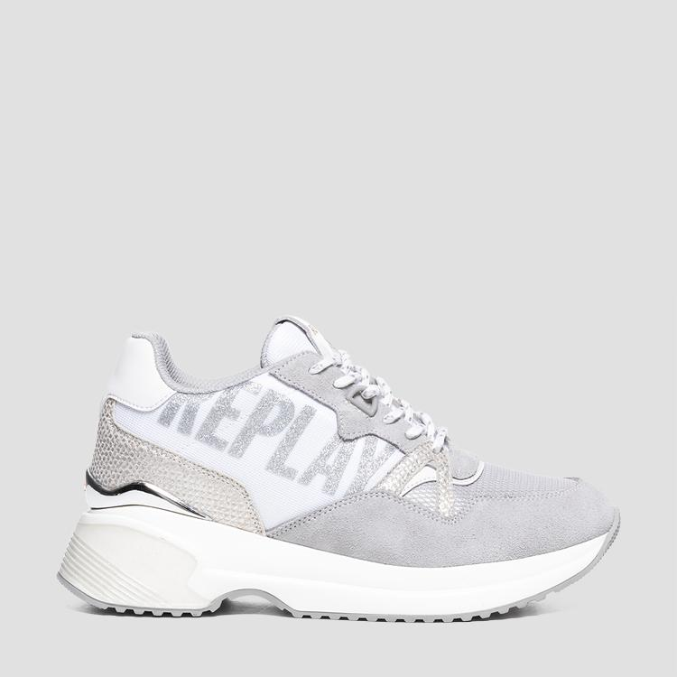 Women's OVERLAND lace up sneakers - Replay
