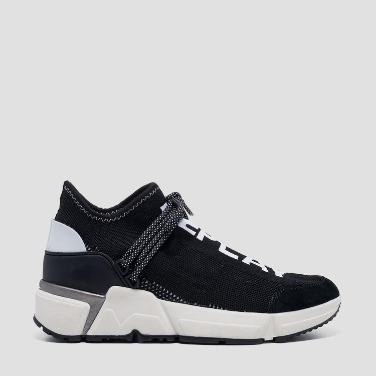 Women's ELAINE sock-style mid cut sneakers - Replay