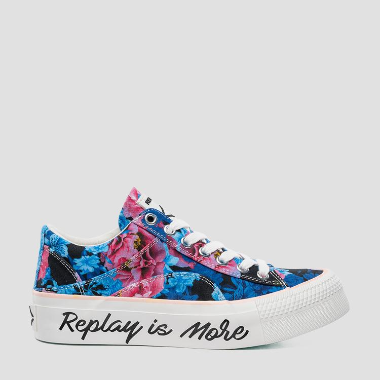 Women's ELMEY lace up sneakers - Replay