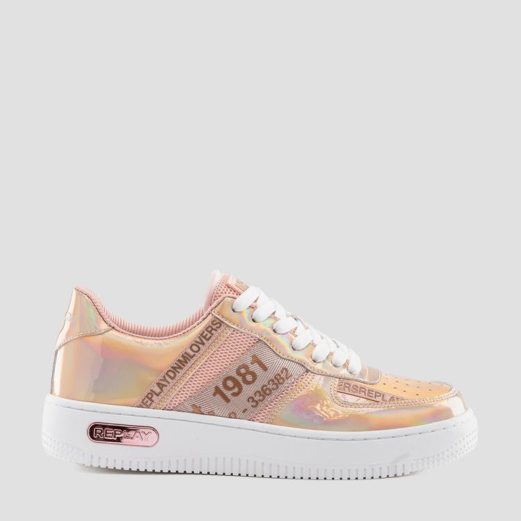 Women's MILO lace up sneakers - Replay