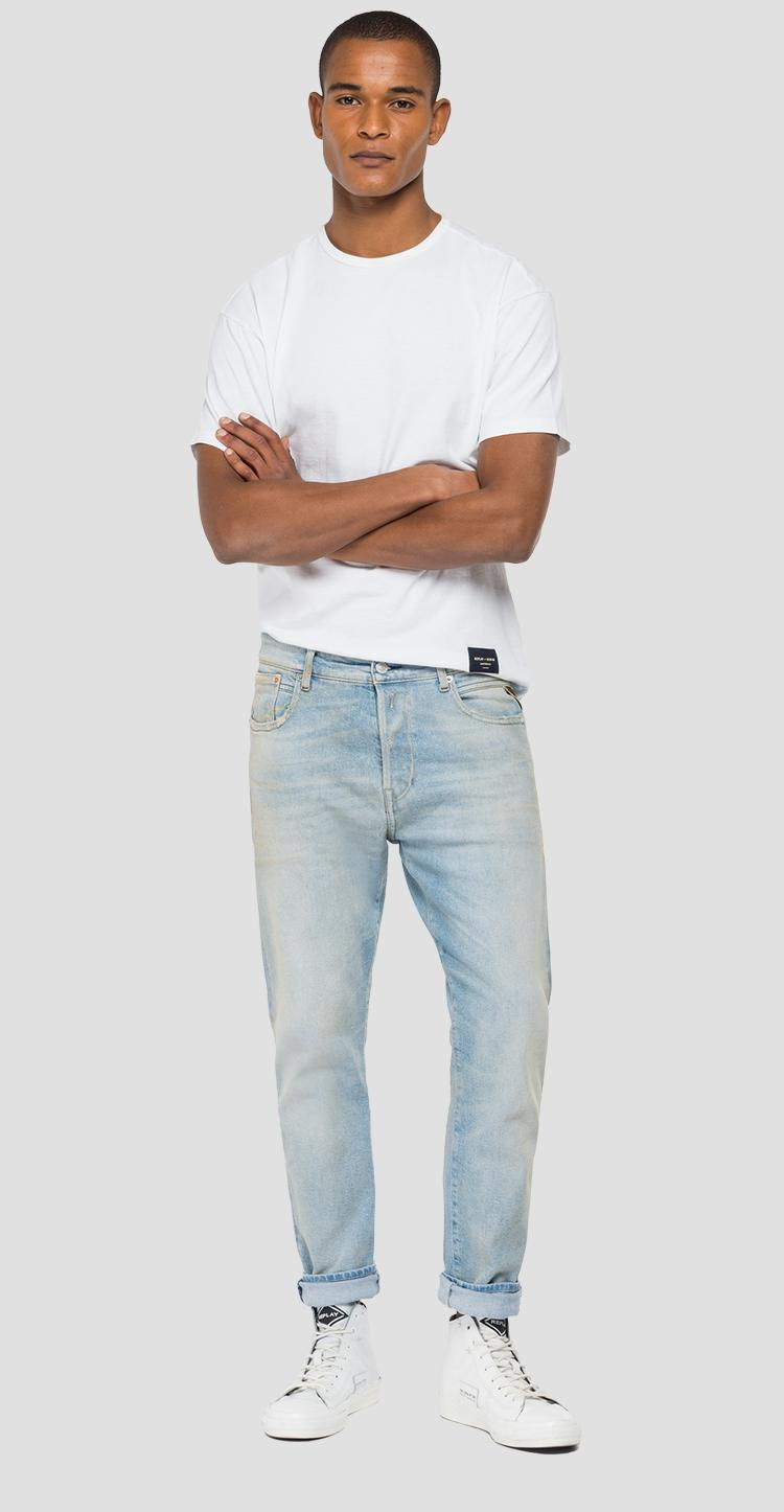 Tapered fit REPLAY Archivio Tinmar jeans m1006e.000.207 899