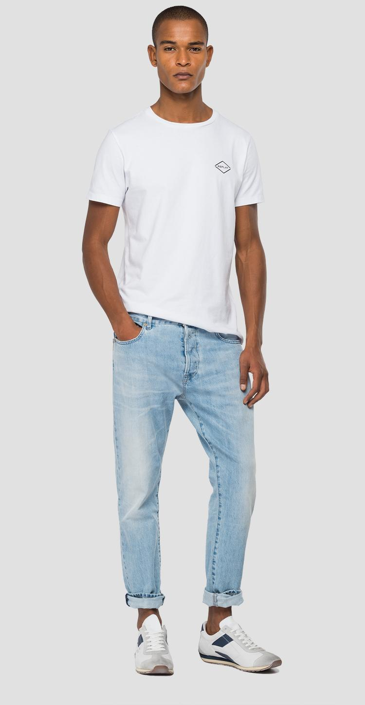 Tapered fit Aged Eco 5 Year Organic Tinmar jeans m1006f.000.356 850