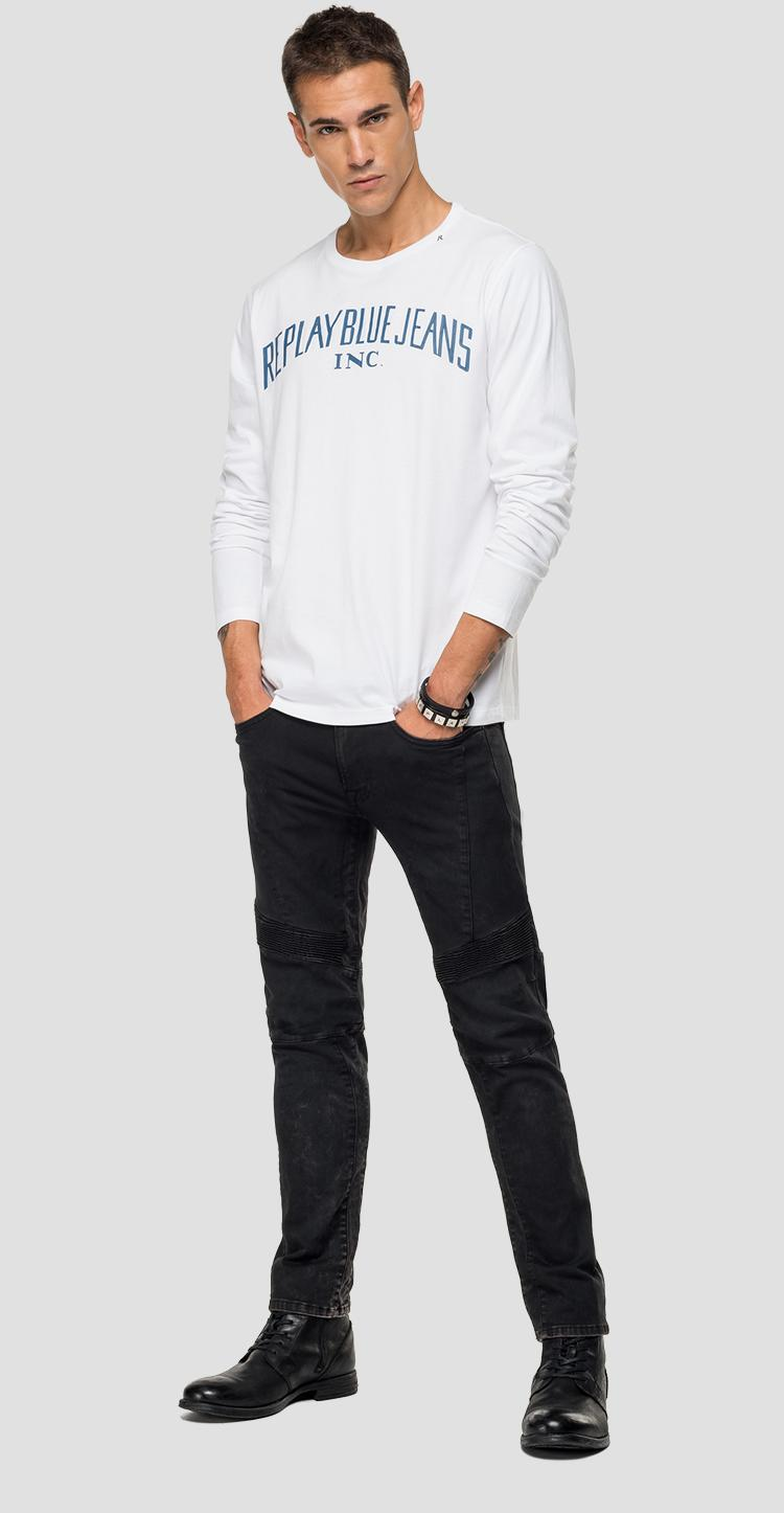 Long-sleeved REPLAY t-shirt m3008 .000.2660
