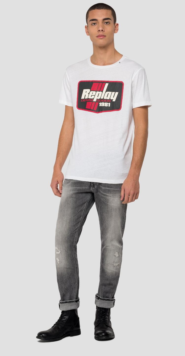 REPLAY t-shirt with frame m3037 .000.22660g