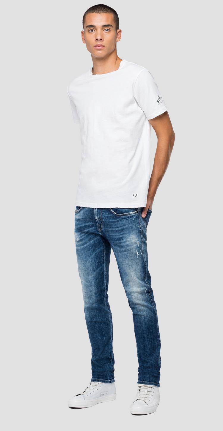 REPLAY cotton t-shirt m3055b.000.22662g