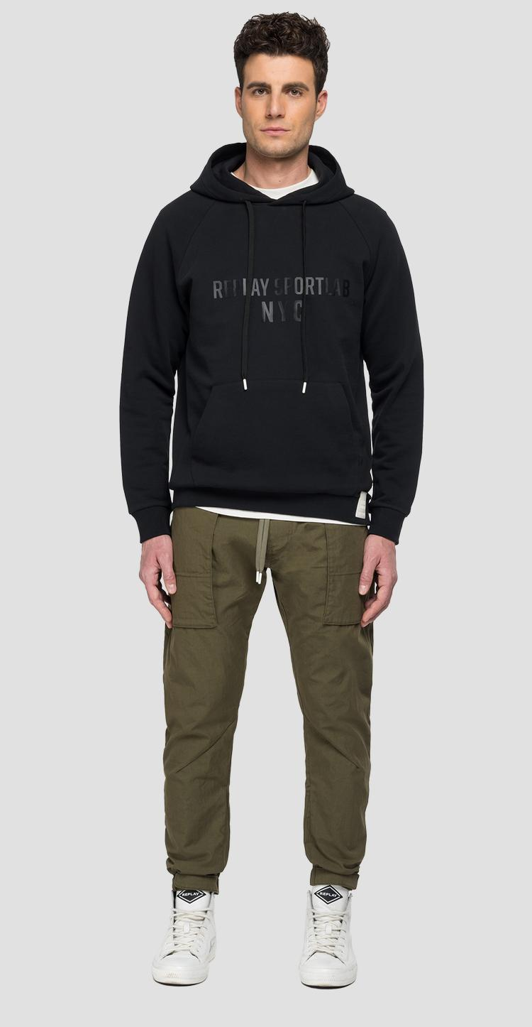 REPLAY SPORTLAB hoodie with pocket - Replay
