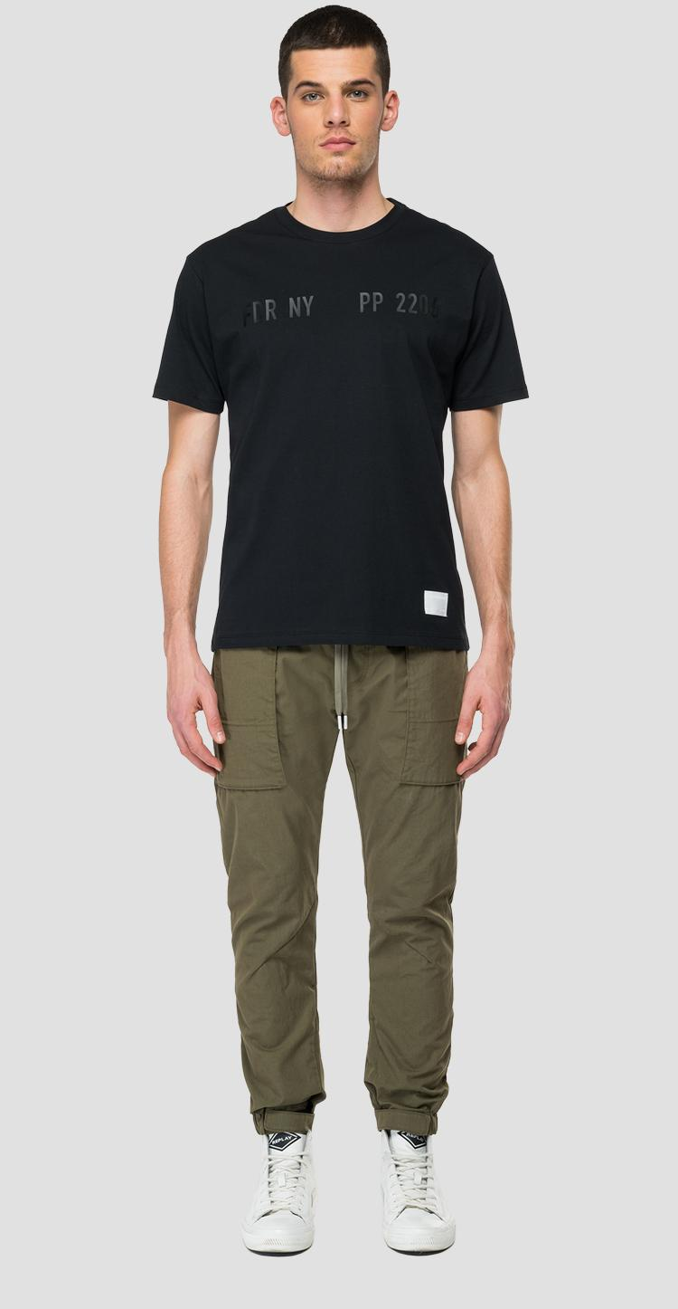 REPLAY SPORTLAB solid-coloured jersey t-shirt m3478 .000.s23170