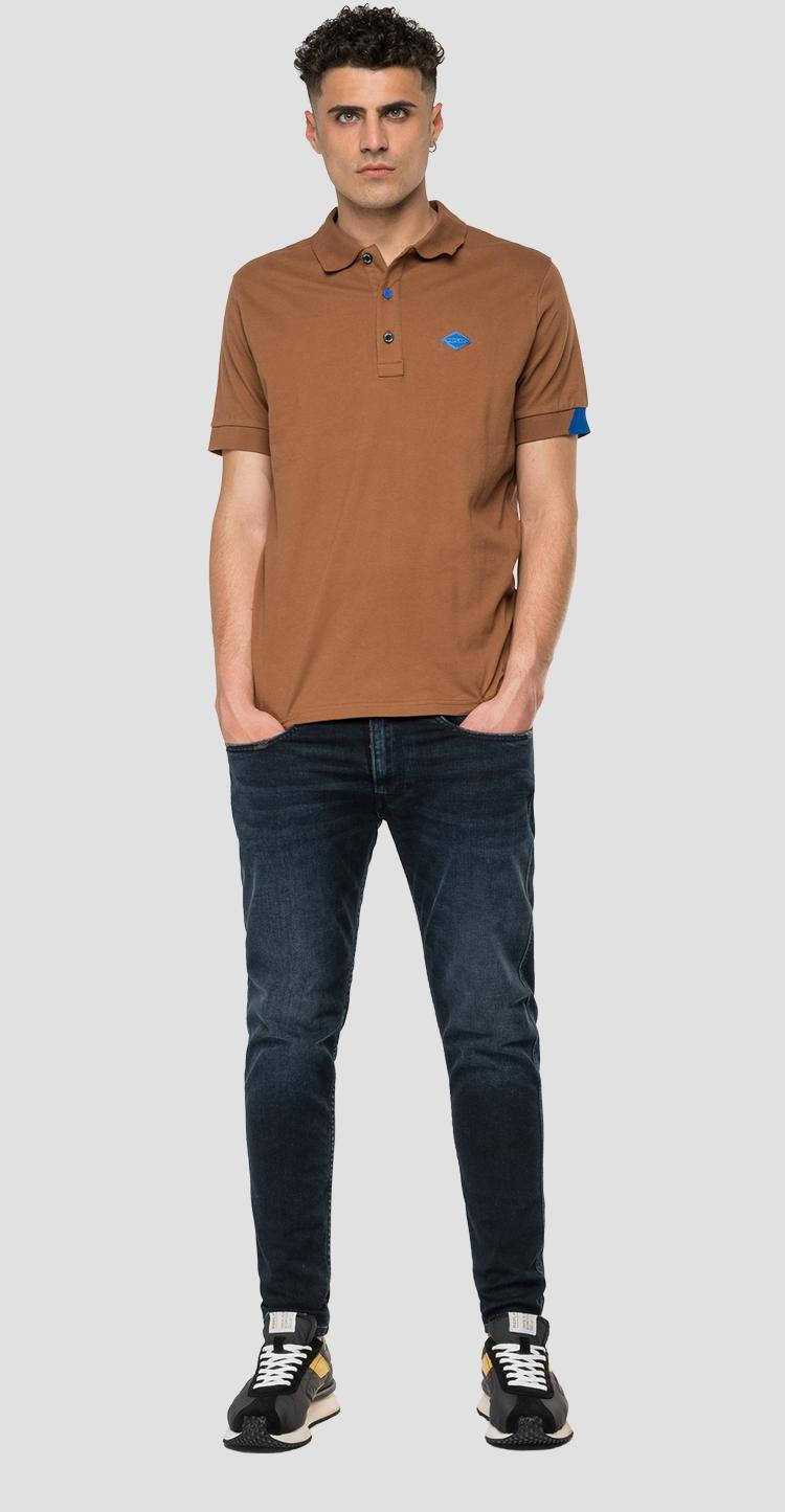 REPLAY polo shirt in stretch piquet m3540 .000.20623