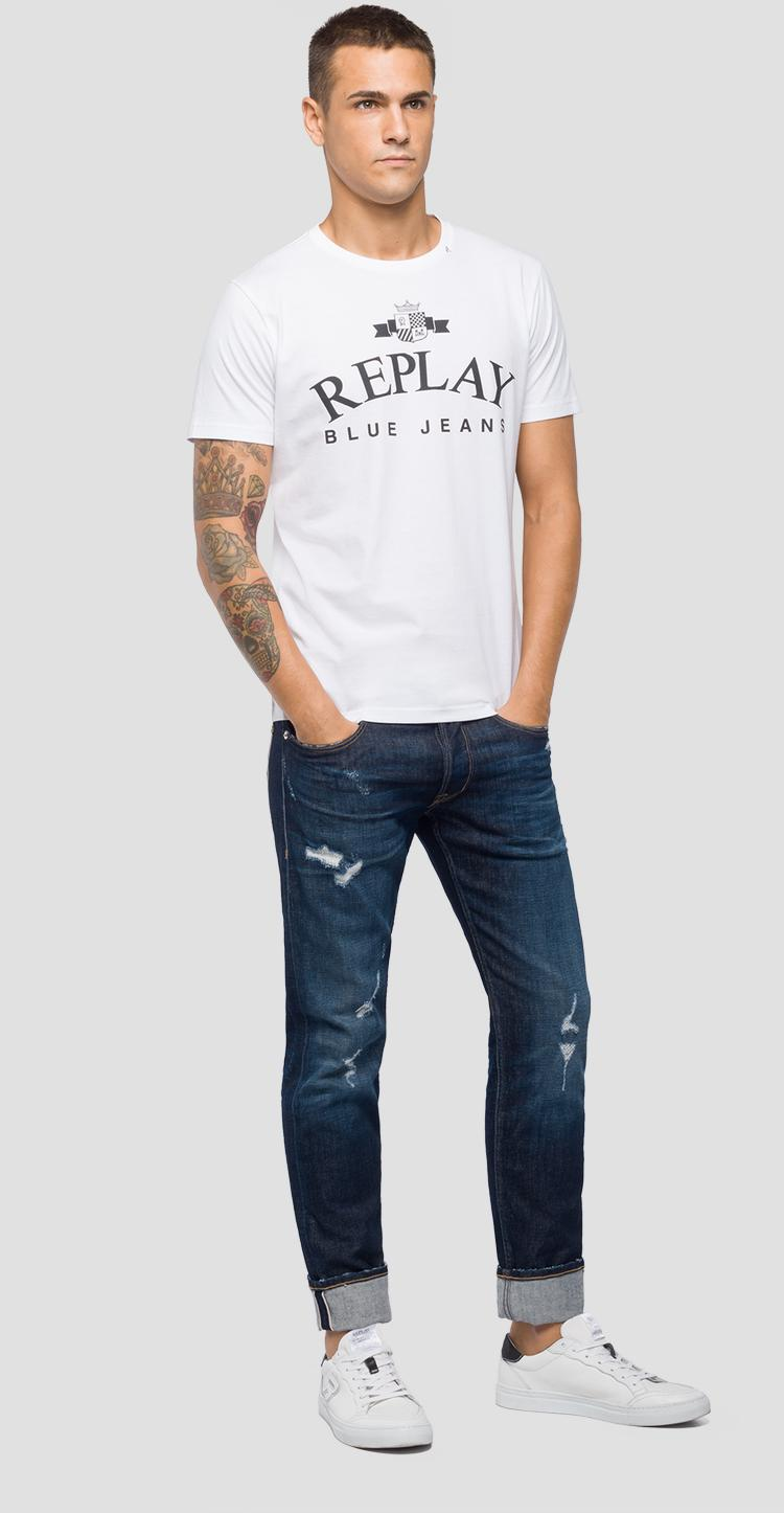 REPLAY BLUE JEANS t-shirt m3723 .000.2660