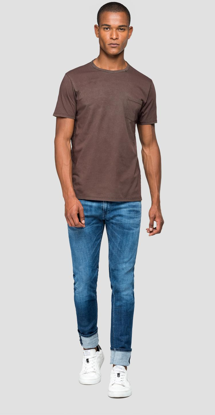 T-shirt with pocket m3894 .000.22326