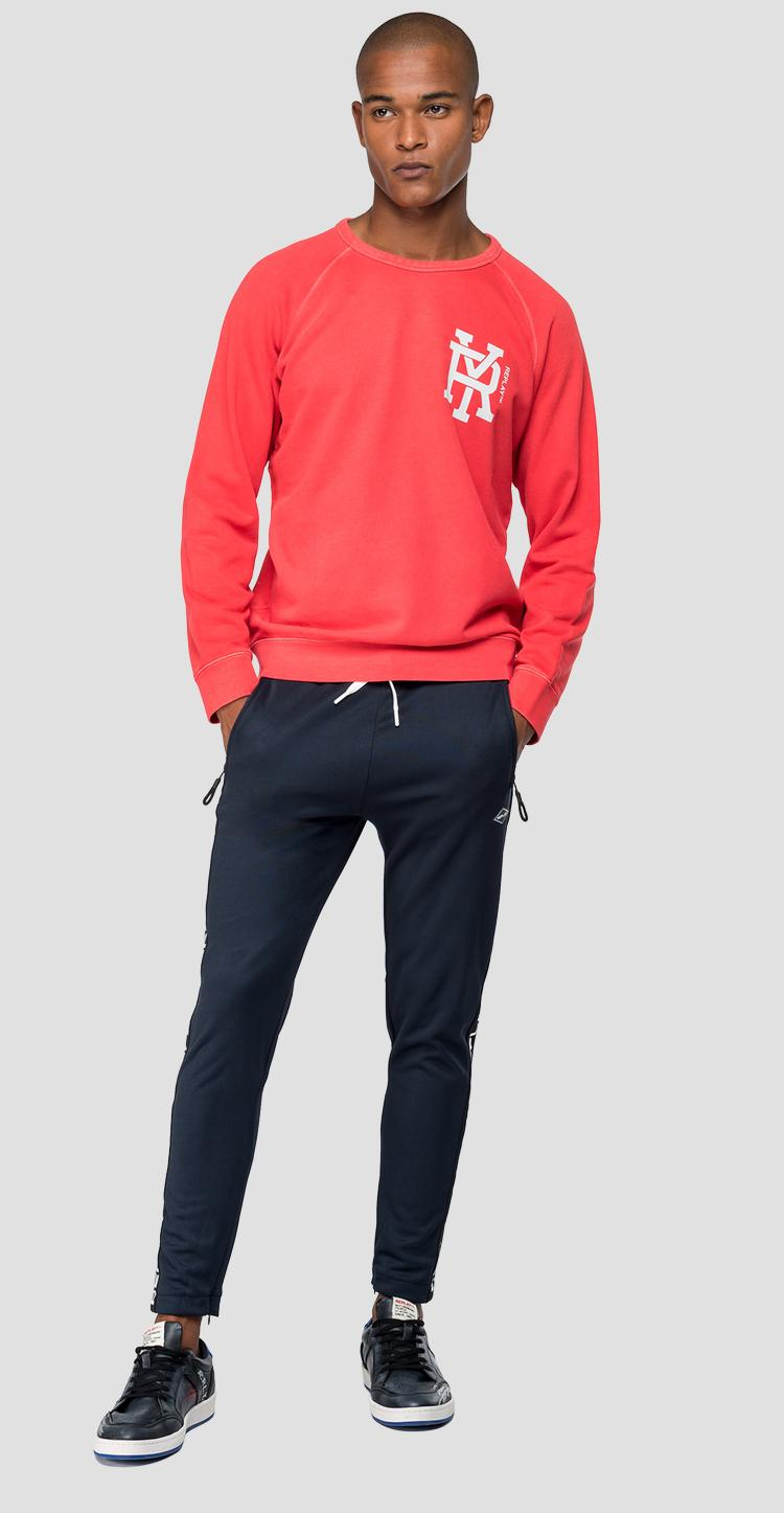 Sweatshirt with RY logo m3922a.000.22390w