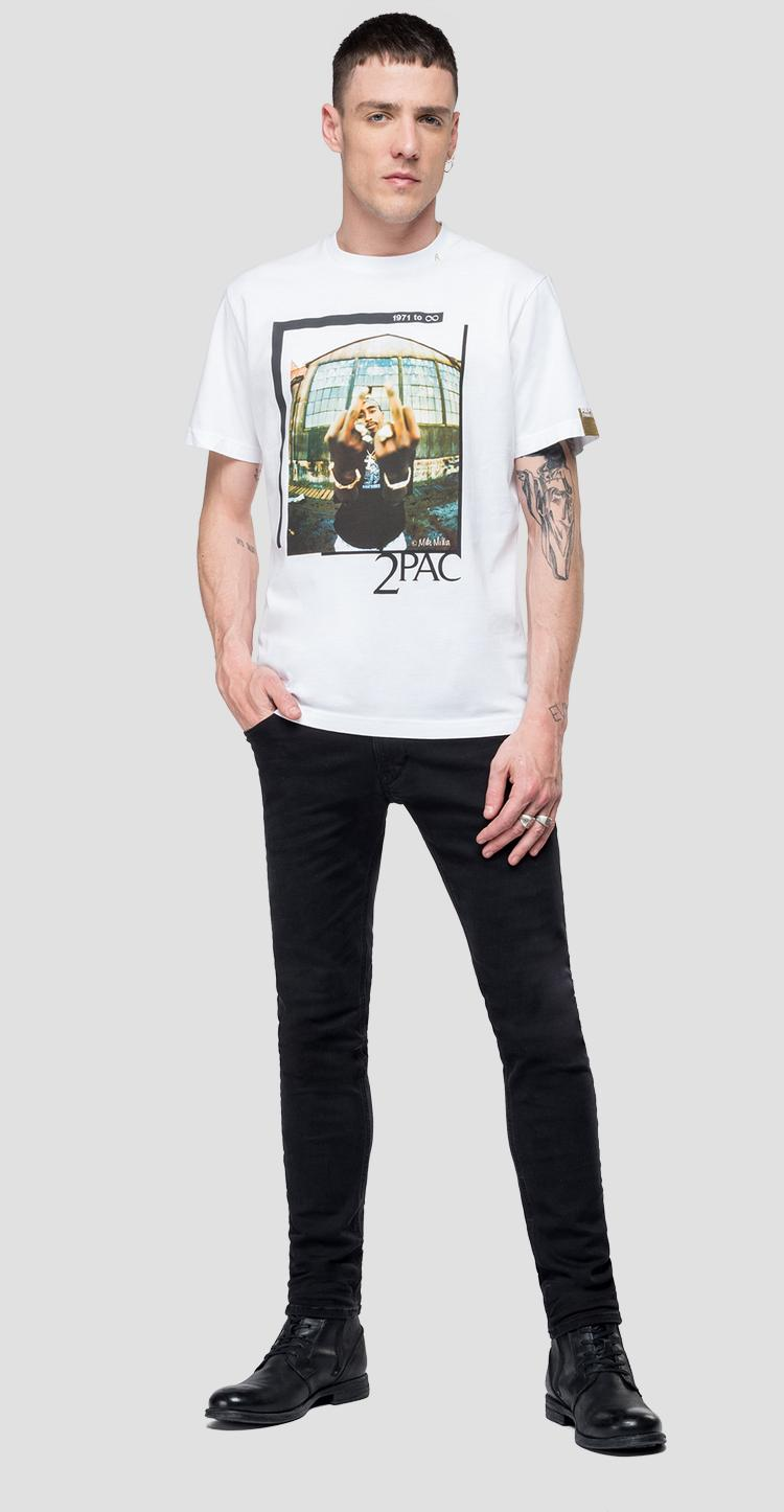 T-shirt Replay Tribute Tupac Limited edition - Replay